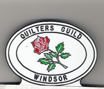Windsor quilter's guild pin